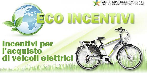 Contributo per l'acquisto di biciclette elettriche a pedalata assistita 2017